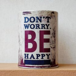 Don't worry be happy mug